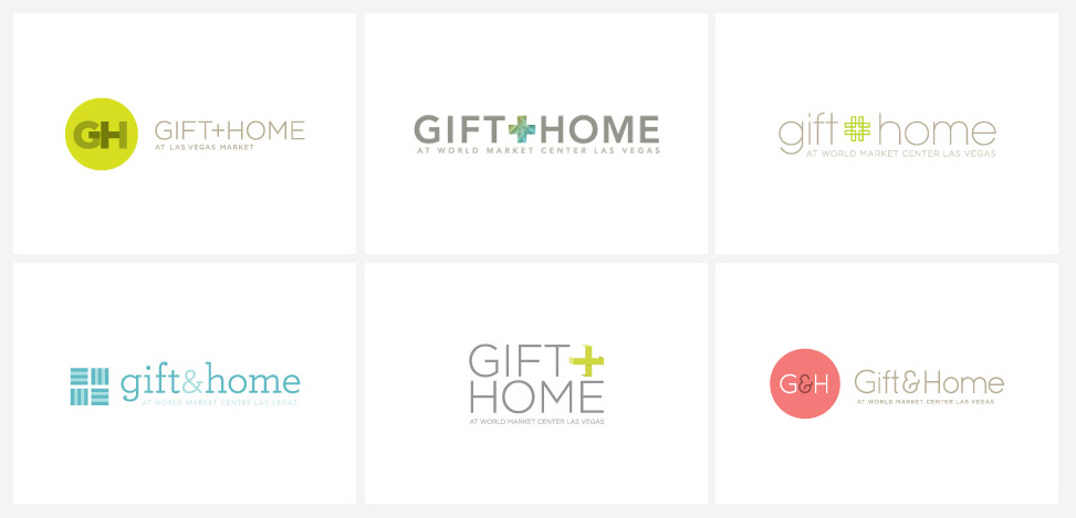 Gift + Home - Proposed Identities