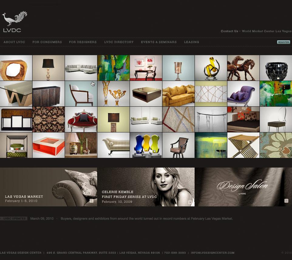 Website - Product Matrix