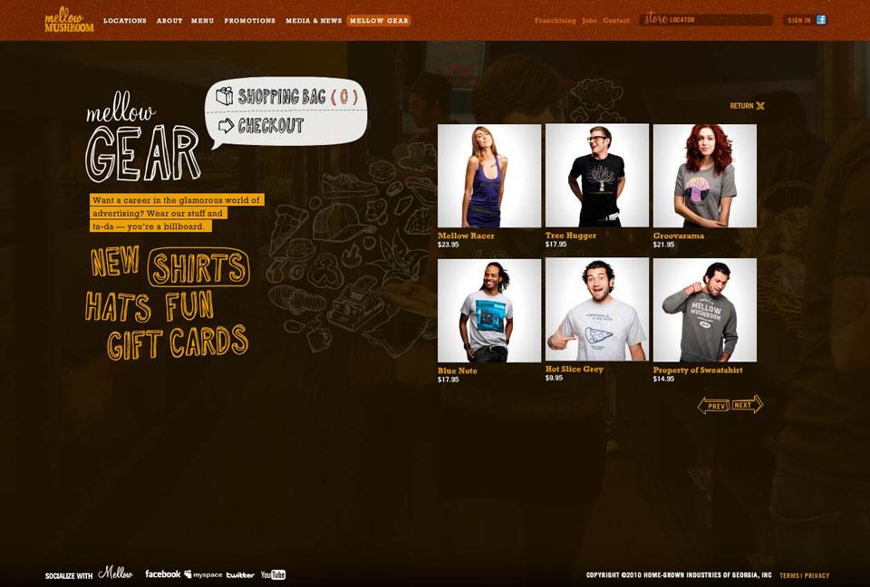 Website - Mellow Gear - Shirts