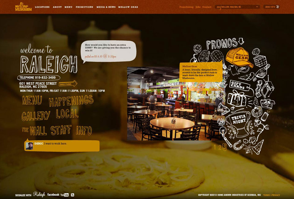 Website - Location Specific Promotions