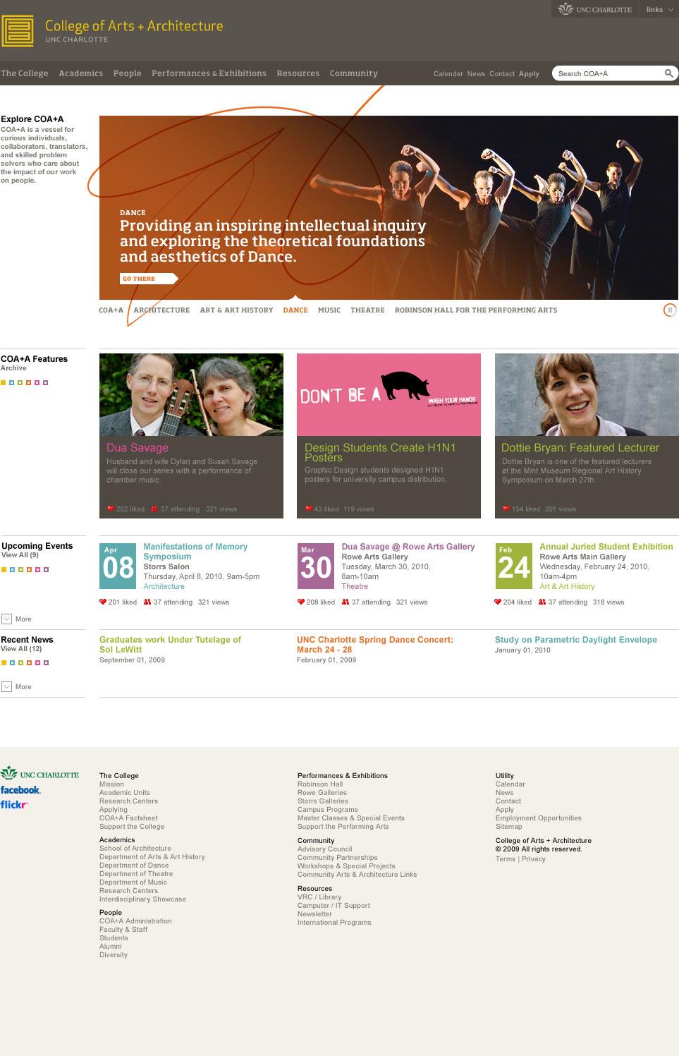 Website - Homepage