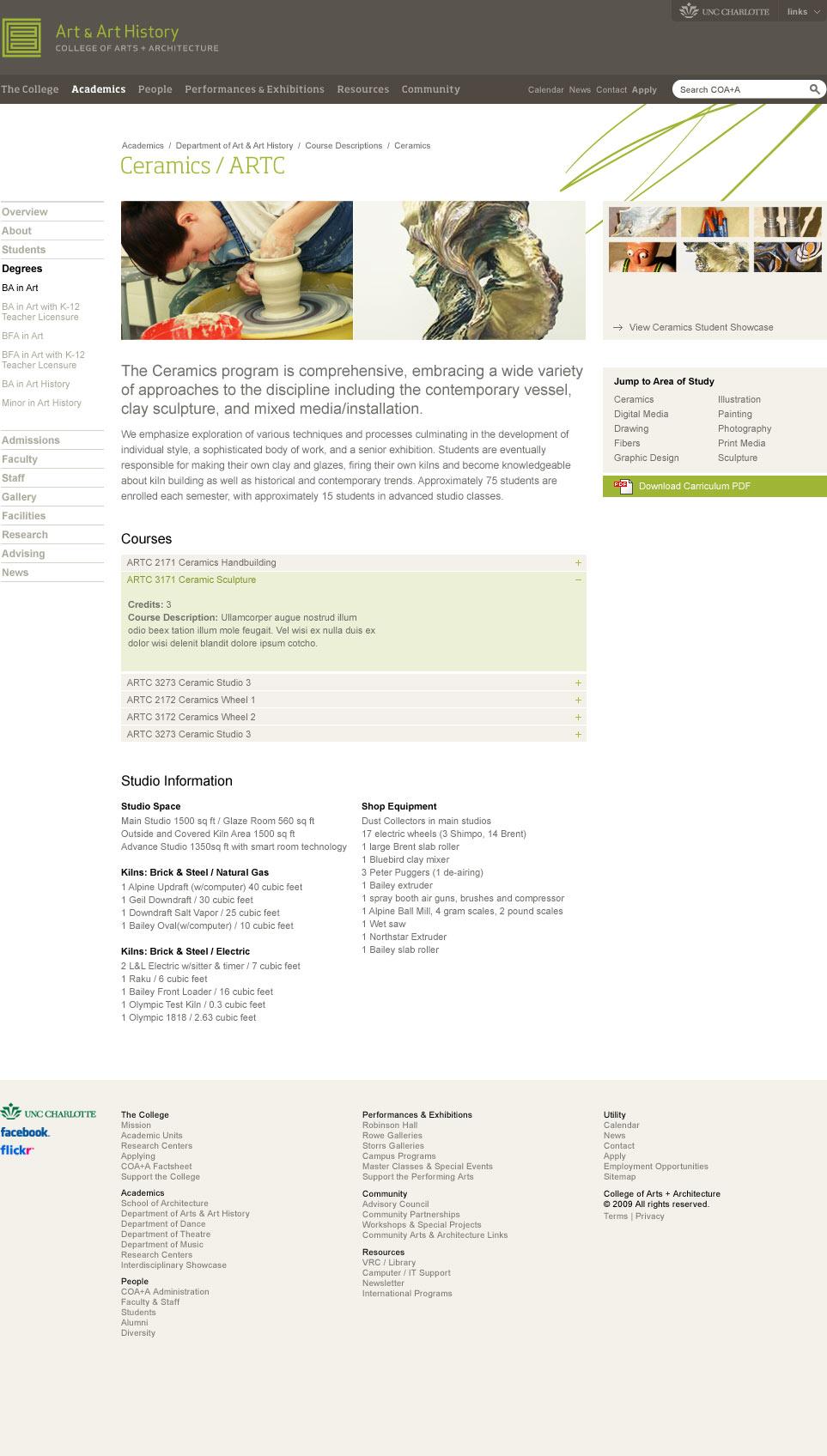 Website - Ceramics