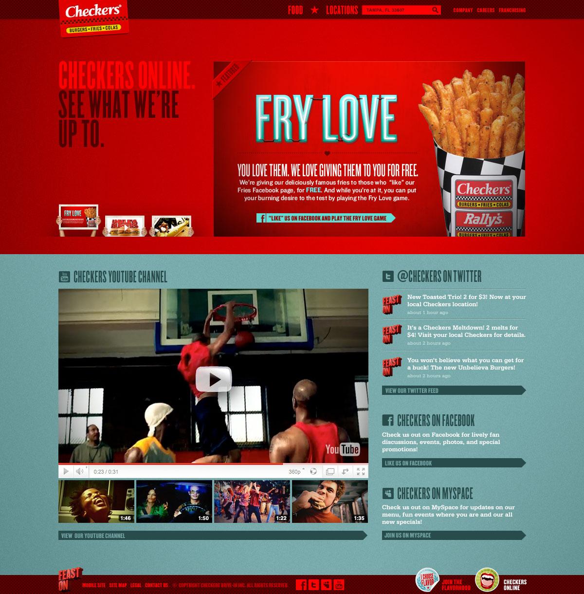 Website - Checkers Online
