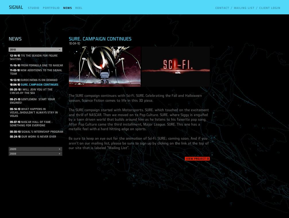 Website - News