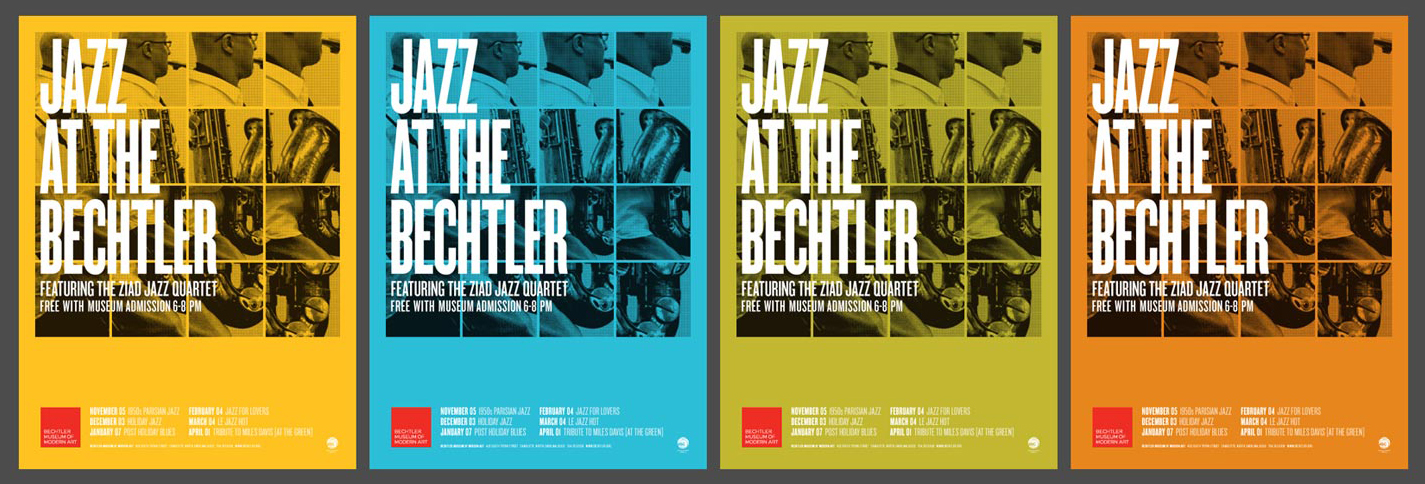 Jazz At The Bechtler - Posters