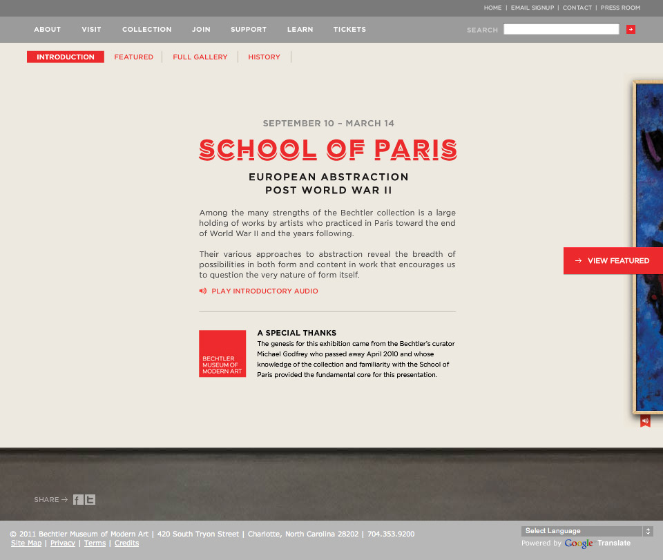 School Of Paris - Introduction
