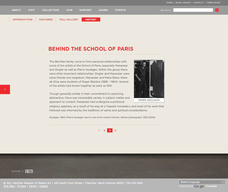 School Of Paris - History