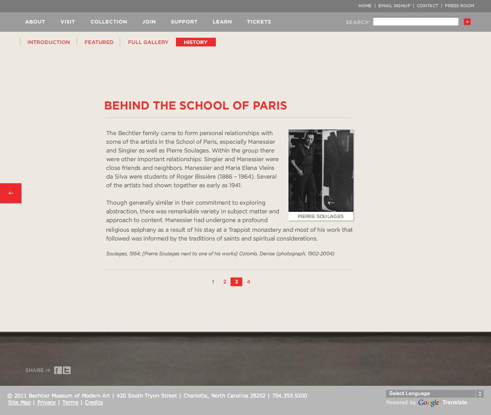 School Of Paris - History