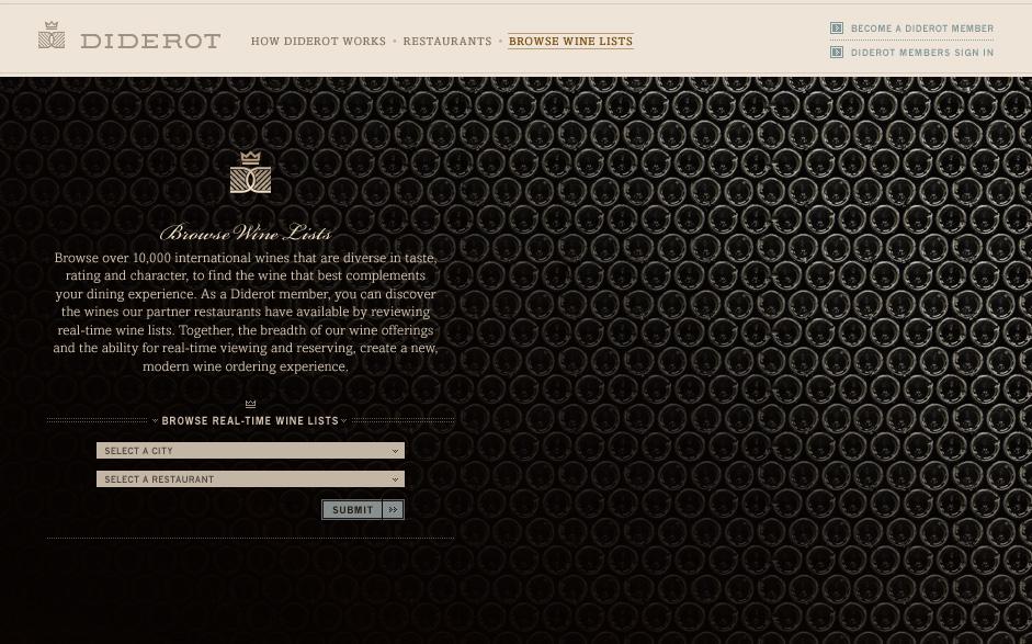 Website - Browse Wine Labels