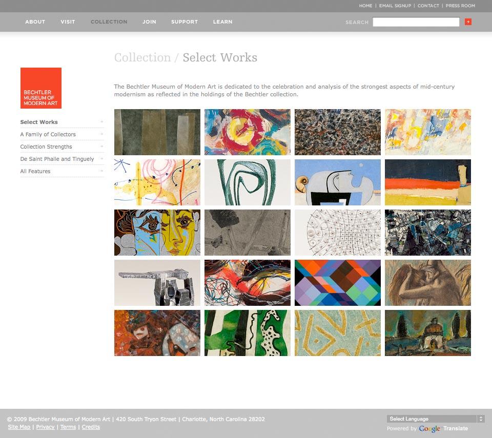 Website - Select Works