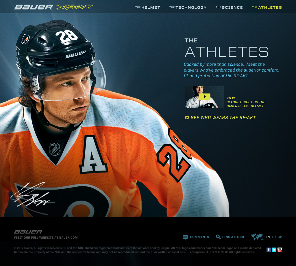 RE-AKT Microsite - The Athletes
