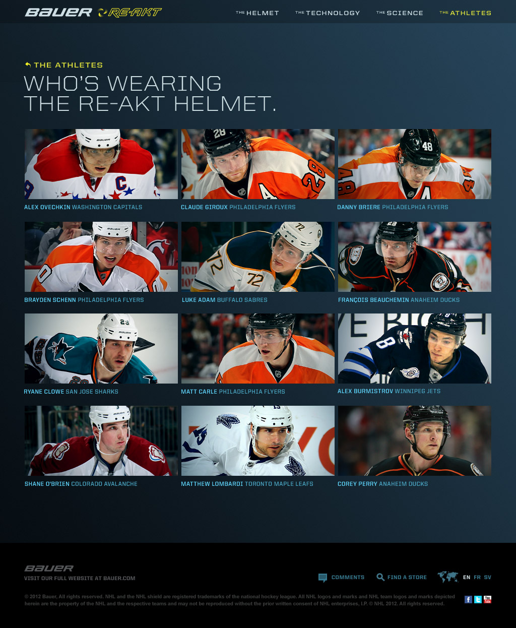 RE-AKT Microsite - Who's Wearing The Helmet