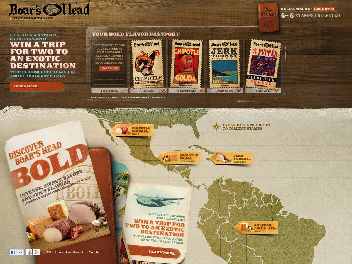 Bold Microsite - My Passport