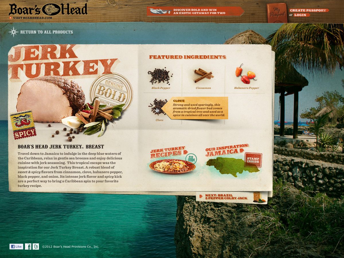 Bold Microsite - Jerk Turkey Detail