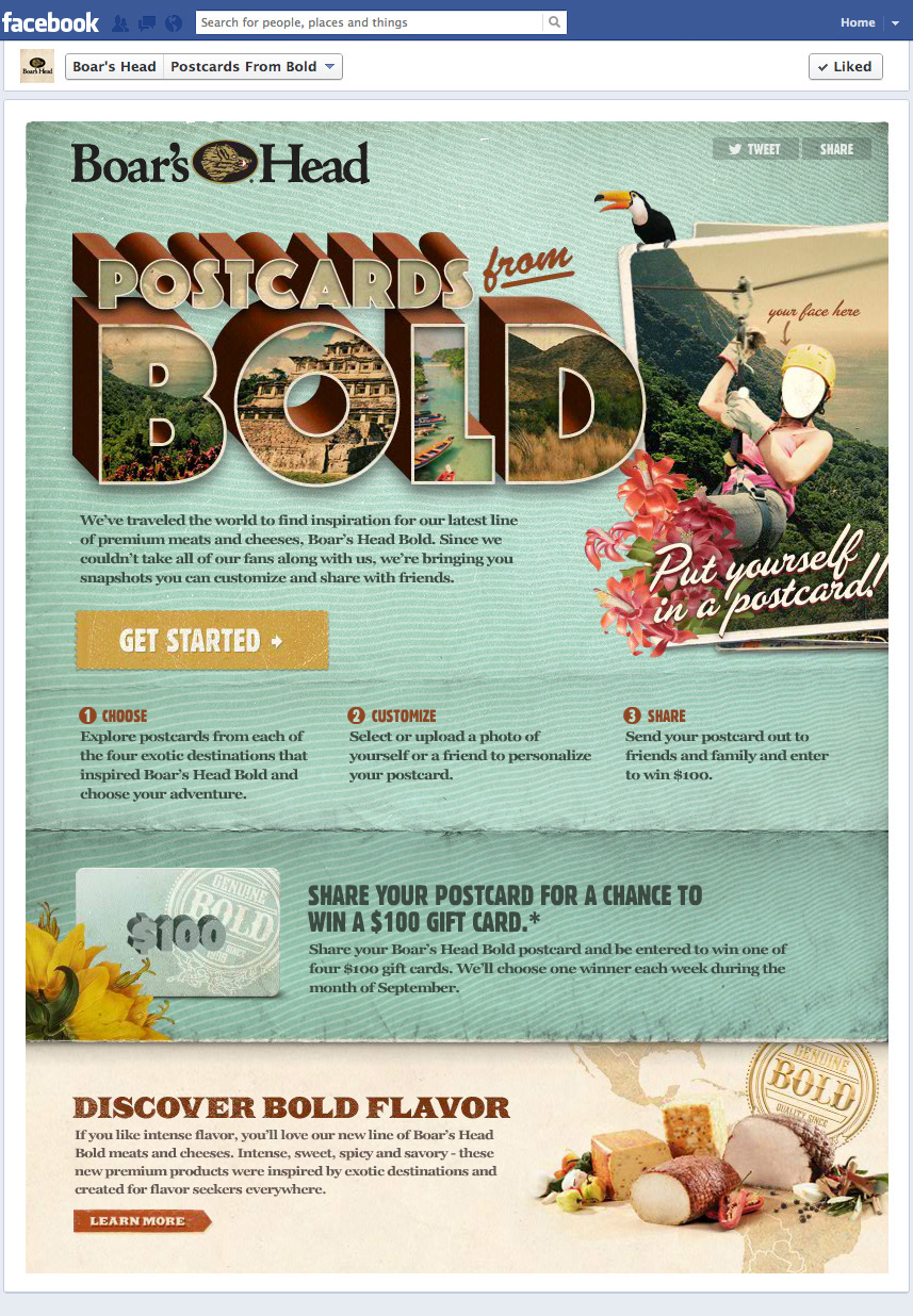 Postcards From Bold - Get Started