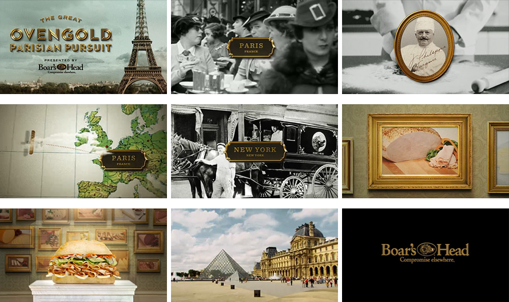 Ovengold Parisian Pursuit - Storyboard