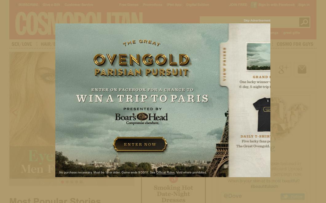 Ovengold Parisian Pursuit - Display Ad