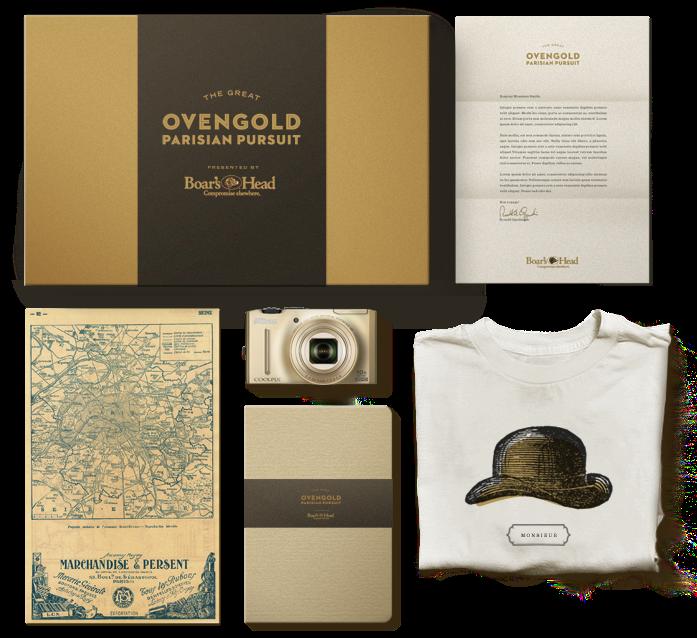 Ovengold Parisian Pursuit - Prize Pack