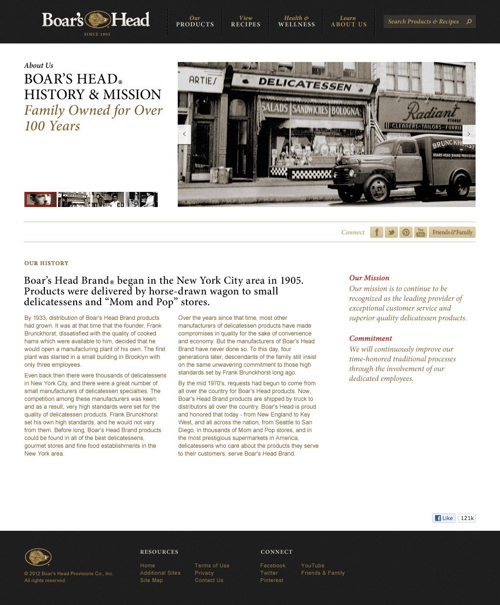 Website - History
