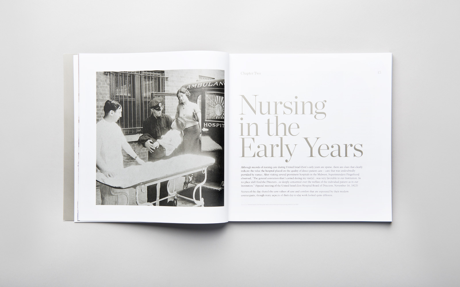 Nursing Centennial Book - Chapter 2 Introduction