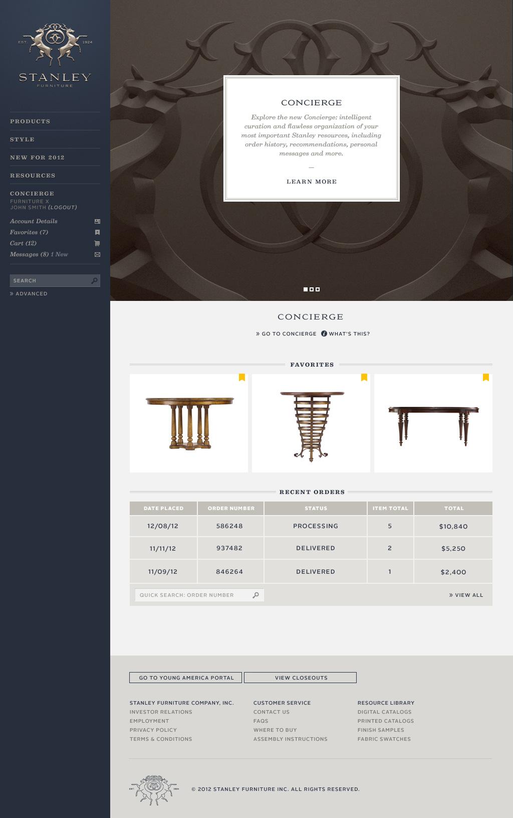 Website - Concierge