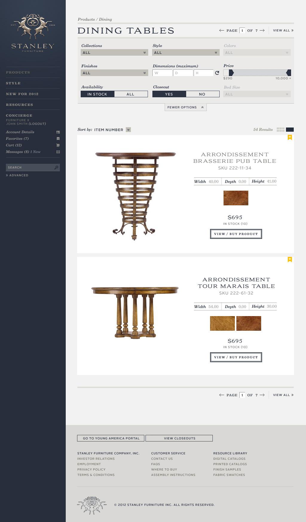 Website - Product - Explore