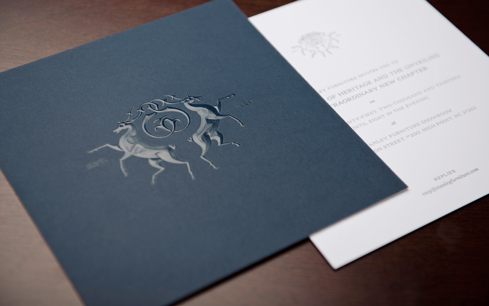 Charming High Point Showroom Opening Invitations